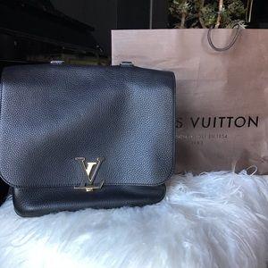 Louis Vuitton Volta Taurillon Black Calfskin Bag